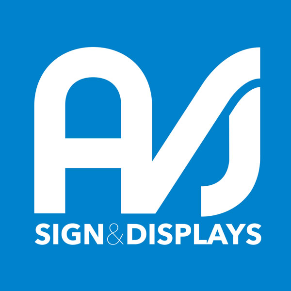 AVJ Sign & display Logo